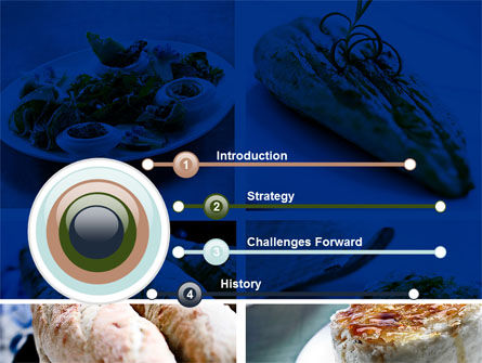 Cuisine PowerPoint Template, Slide 3, 10437, Food & Beverage — PoweredTemplate.com