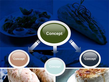 Cuisine PowerPoint Template, Slide 4, 10437, Food & Beverage — PoweredTemplate.com