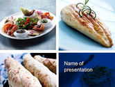 Food & Beverage: Cuisine PowerPoint Template #10437