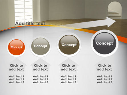 Indoor Space PowerPoint Template Slide 13