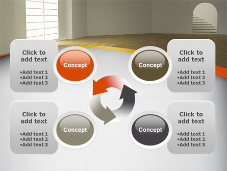 Indoor Space PowerPoint Template Slide 9