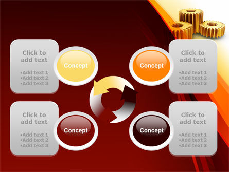 Gear Wheels PowerPoint Template Slide 9