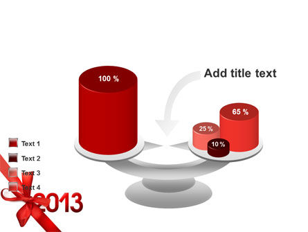 2013 Gift PowerPoint Template Slide 10