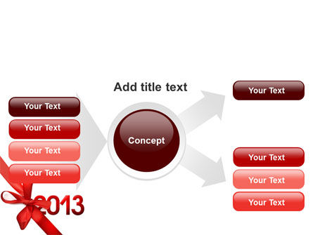 2013 Gift PowerPoint Template Slide 14