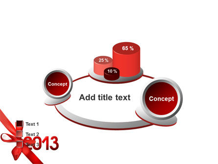 2013 Gift PowerPoint Template Slide 16