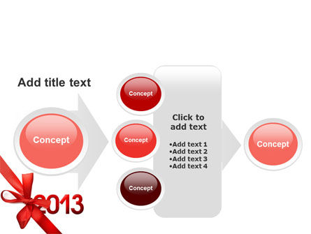 2013 Gift PowerPoint Template Slide 17