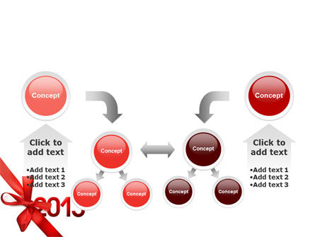 2013 Gift PowerPoint Template Slide 19