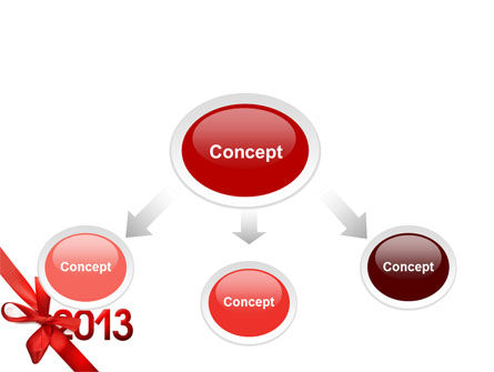 2013 Gift PowerPoint Template Slide 4