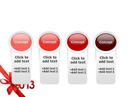 2013 Gift PowerPoint Template Slide 5