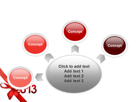 2013 Gift PowerPoint Template Slide 7