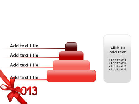 2013 Gift PowerPoint Template Slide 8