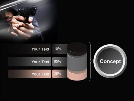 Gunman PowerPoint Template Slide 11