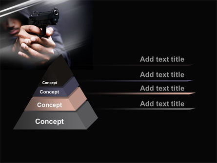 Gunman PowerPoint Template Slide 12