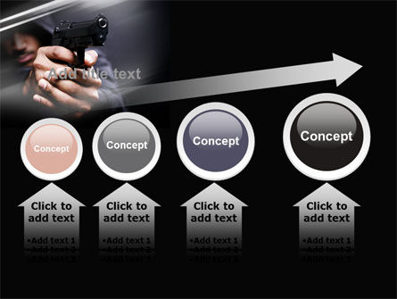 Gunman PowerPoint Template Slide 13