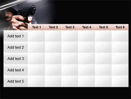 Gunman PowerPoint Template Slide 15