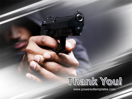 Gunman PowerPoint Template Slide 20