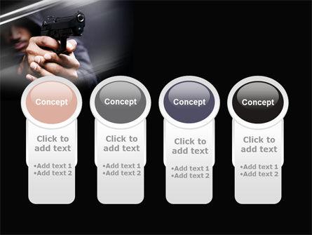 Gunman PowerPoint Template Slide 5
