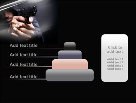 Gunman PowerPoint Template Slide 8