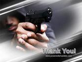 Gunman PowerPoint Template#20