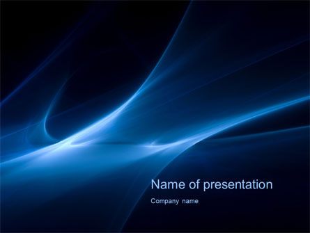 Blue Nebulosity PowerPoint Template
