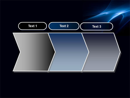 Blue Nebulosity PowerPoint Template Slide 16