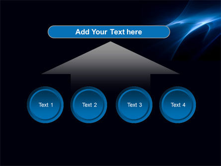 Blue Nebulosity PowerPoint Template Slide 8