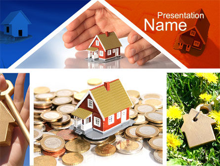 Real Estate Investment PowerPoint Template, Backgrounds | 10447 ...