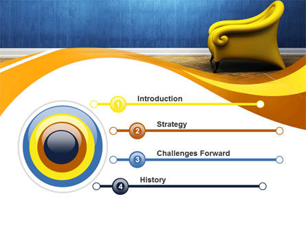 Creative Chair PowerPoint Template, Slide 3, 10448, Careers/Industry — PoweredTemplate.com