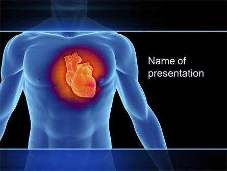 Medical: Heart Disease PowerPoint Template #10449