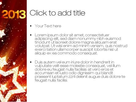 2013 PowerPoint Template, Slide 3, 10450, Holiday/Special Occasion — PoweredTemplate.com