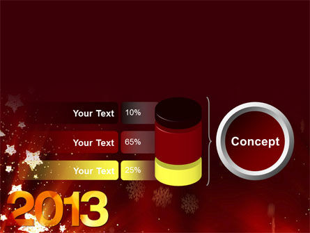 2013 PowerPoint Template Slide 11