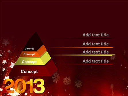 2013 PowerPoint Template Slide 12