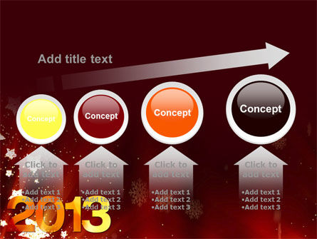 2013 PowerPoint Template Slide 13