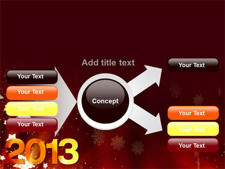 2013 PowerPoint Template Slide 14