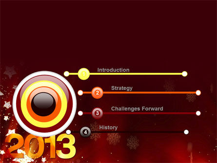 2013 PowerPoint Template Slide 3