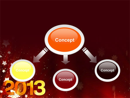 2013 PowerPoint Template, Slide 4, 10450, Holiday/Special Occasion — PoweredTemplate.com