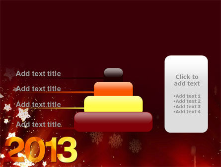 2013 PowerPoint Template Slide 8