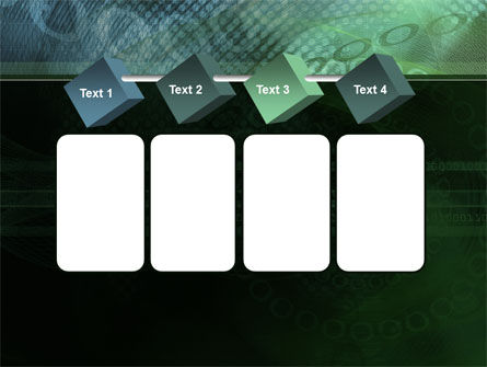 Binary Abstract PowerPoint Template Slide 18