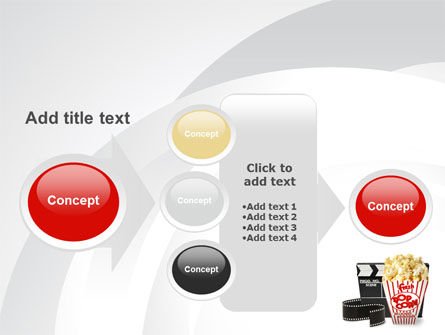Film Entertainment PowerPoint Template Slide 17