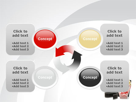 Film Entertainment PowerPoint Template Slide 9