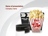 Careers/Industry: Modelo do PowerPoint - entretenimento de filmes #10454