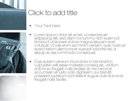 Stay in Touch with Office PowerPoint Template, Slide 3, 10457, Business Concepts — PoweredTemplate.com