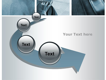 Stay in Touch with Office PowerPoint Template Slide 6