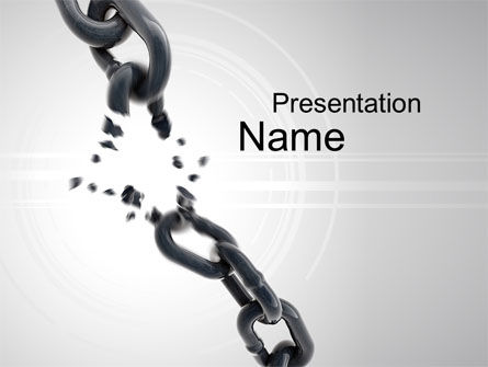 Weakness PowerPoint Template, 10458, Consulting — PoweredTemplate.com