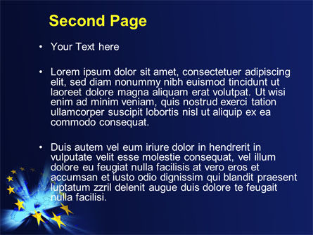 United Europe PowerPoint Template, Slide 2, 10459, Politics and Government — PoweredTemplate.com