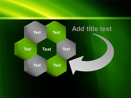 Green Arc PowerPoint Template Slide 11