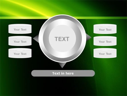 Green Arc PowerPoint Template Slide 12