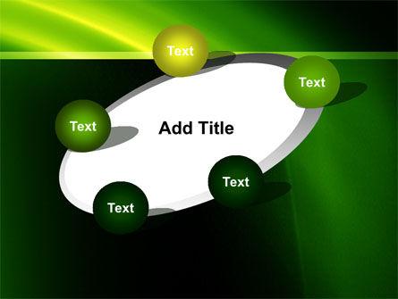 Green Arc PowerPoint Template Slide 14