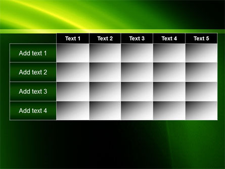 Green Arc PowerPoint Template Slide 15