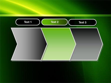 Green Arc PowerPoint Template Slide 16